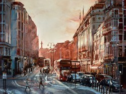 Sunny Winter Day by Ziv Cooper -  sized 40x30 inches. Available from Whitewall Galleries